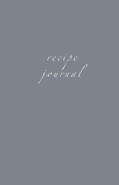 View Recipe Journal by Meghan Sauder, Nutrific