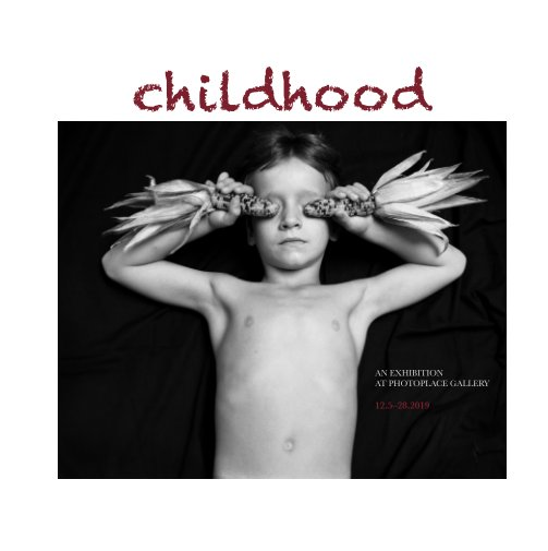 View Childhood, Hardcover Imagewrap by PhotoPlace Gallery