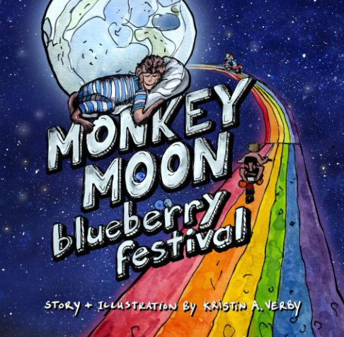 View Monkey Moon Blueberry Festival by Kristin A. Verby