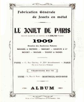 Jouets de Paris 1909 book cover
