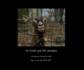 the drunken goat farm shenanigans book cover