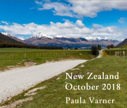 New Zealand October 2018 book cover