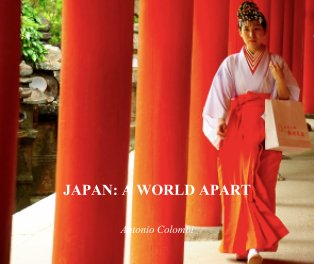 Japan: a world apart book cover