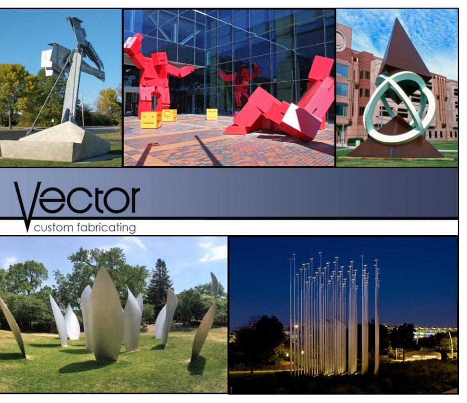 View Vector Sculpture by Steve Mueller and Jyoti Sri