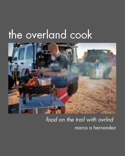The Overland Cook book cover