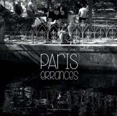 Errances parisiennes book cover