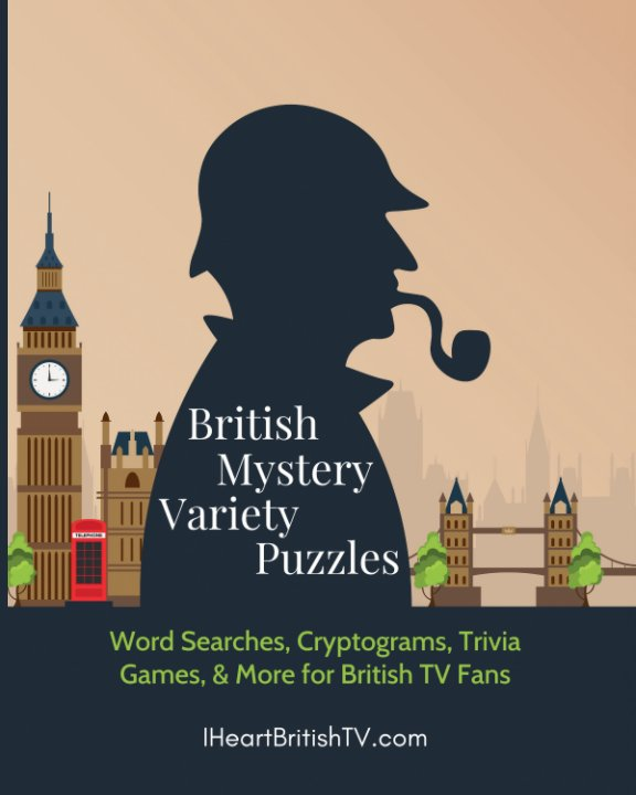 View British Mystery Variety Puzzles by Stefanie Hutson
