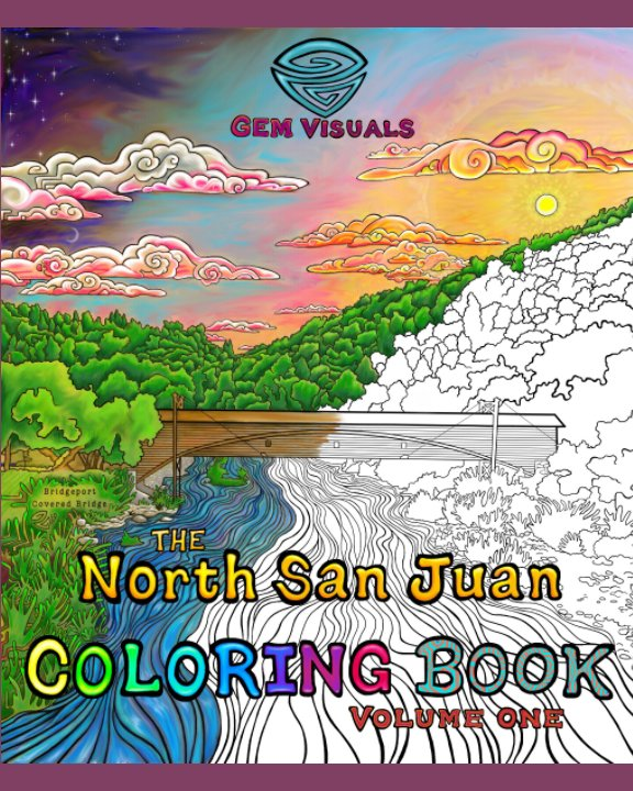 View The North San Juan Coloring Book by GEMvisuals (Grace E Mack)