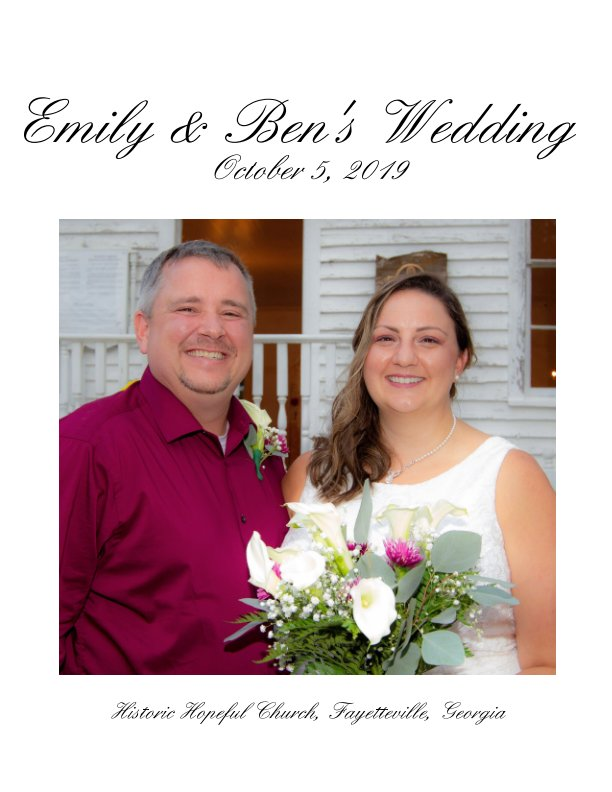 View Emily and Ben's Wedding by Dean Breest