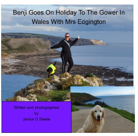 View Benji Goes On Holiday To The Gower With Mrs Edgington by Janice D Steele