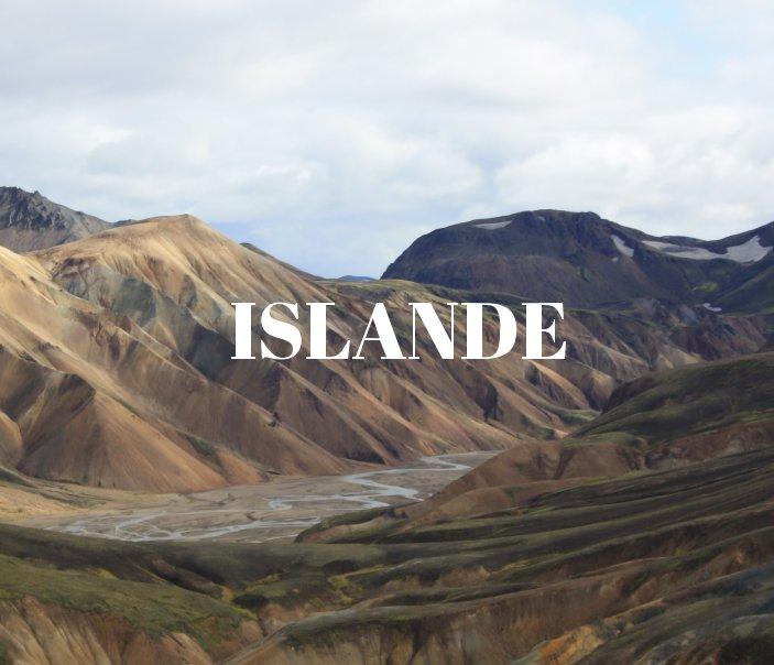View Islande by Jean Hespel, Marine Lecocq