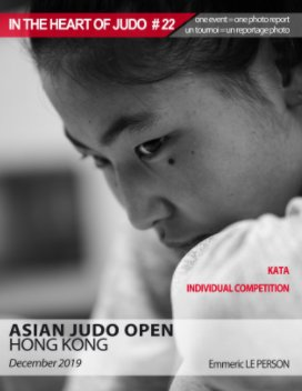 In the heart of judo #22 HKG 2019 book cover