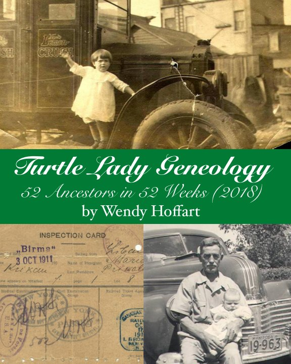 View Turtle Lady Genealogy by Wendy Hoffart