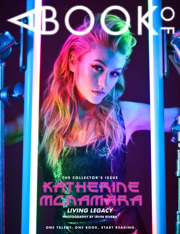 View A BOOK OF Katherine McNamara by A BOOK OF Magazine