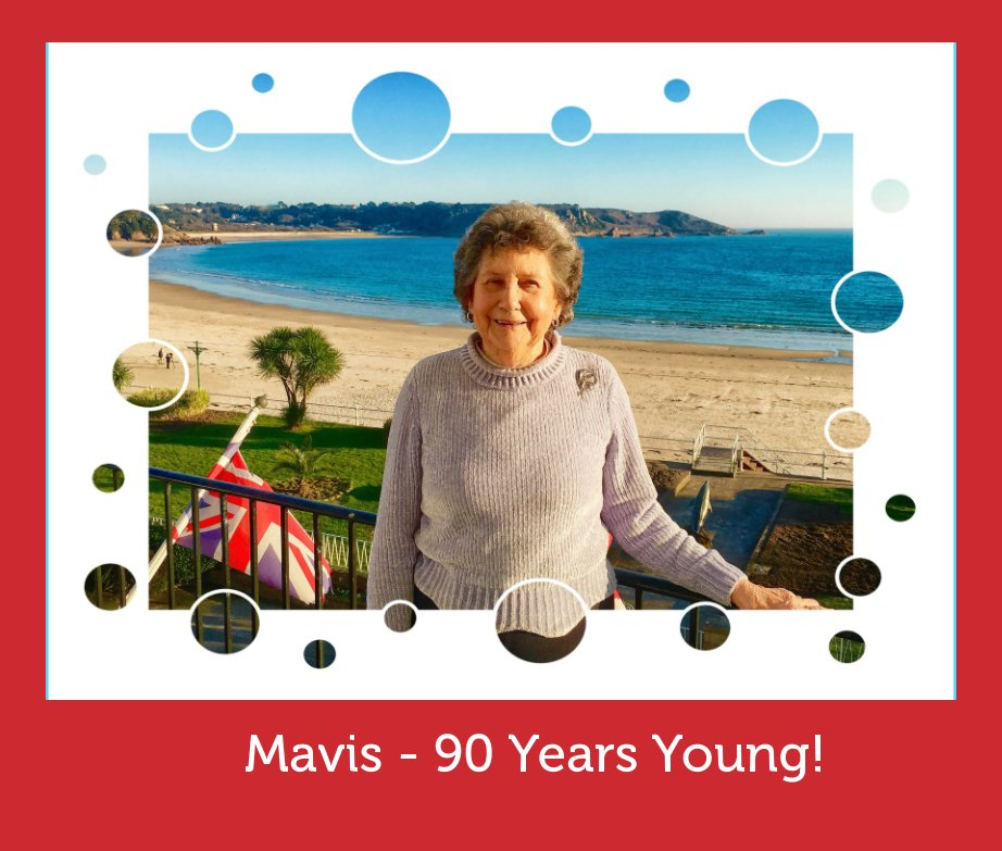 View Mavis - 90 Years Young by Wendy Collens Basil Groundsell