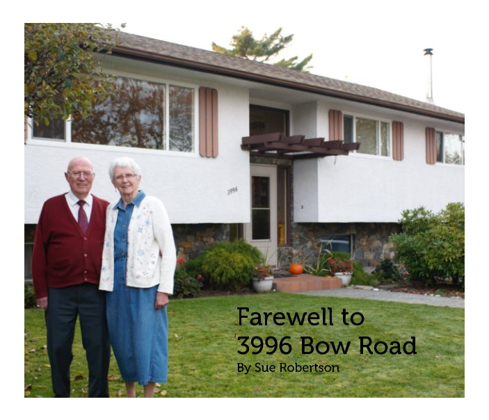 View Farewell to 3996 Bow Road by Sue Robertson