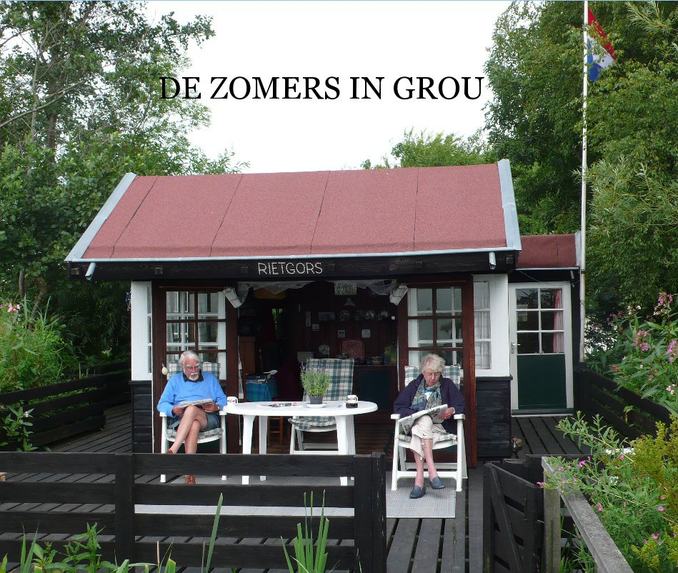 View De Zomers in Grou by Karel Bakker