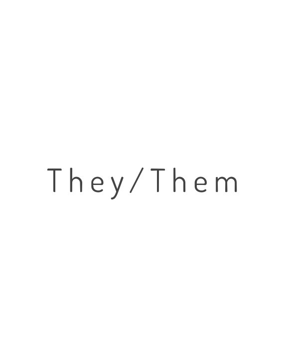 View They/Them by Megan Amis