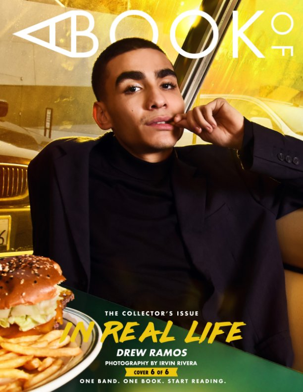 View A BOOK OF In Real Life Cover 6 by A BOOK OF MAGAZINE