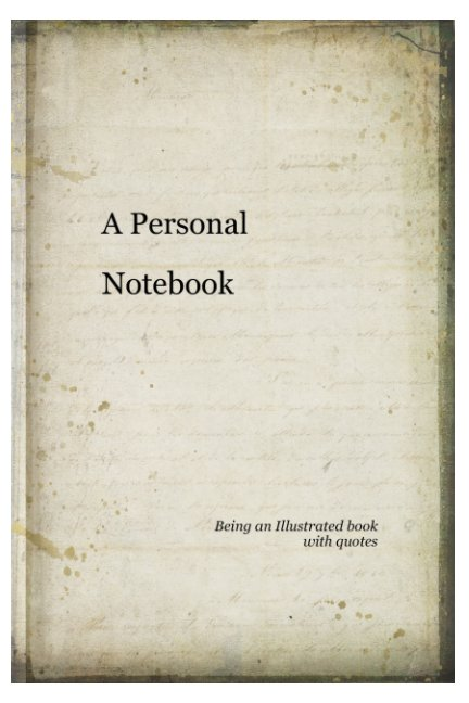 View A Personal Notebook by Suzanne Fitzpatrick