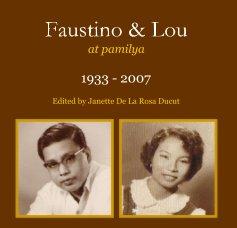 Faustino & Lou at pamilya book cover