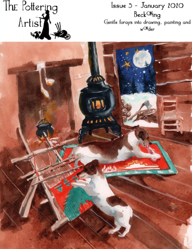 """View Issue 5 """"Beckoning"""" The Pottering Artist by Alison Fennell"""