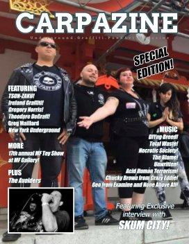 Carpazine Art Magazine Issue Number 22 book cover