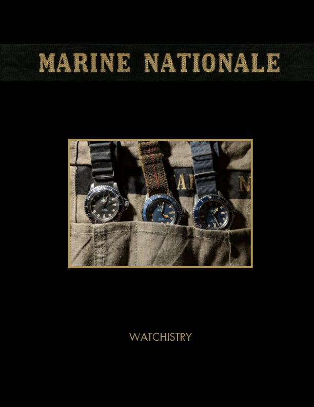 View Marine Nationale (English language edition) by WATCHISTRY