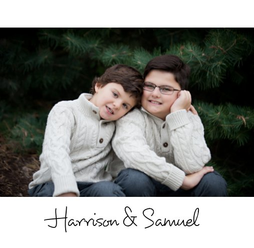 View Harrison and Samuel by Gorman House Photography