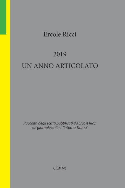 Visualizza 2019 un anno articolato di Ercole Ricci