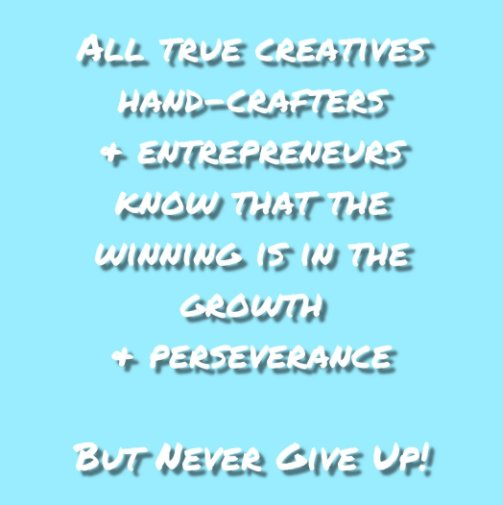 View Never Give Up! Journal #10 by Felicia V. Bland