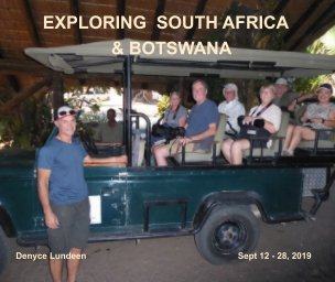 Exploring South Africa and  Botswana book cover