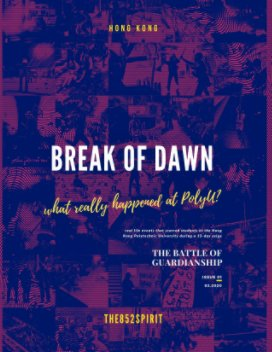 Break of Dawn Issue 1, Feb 2020 book cover