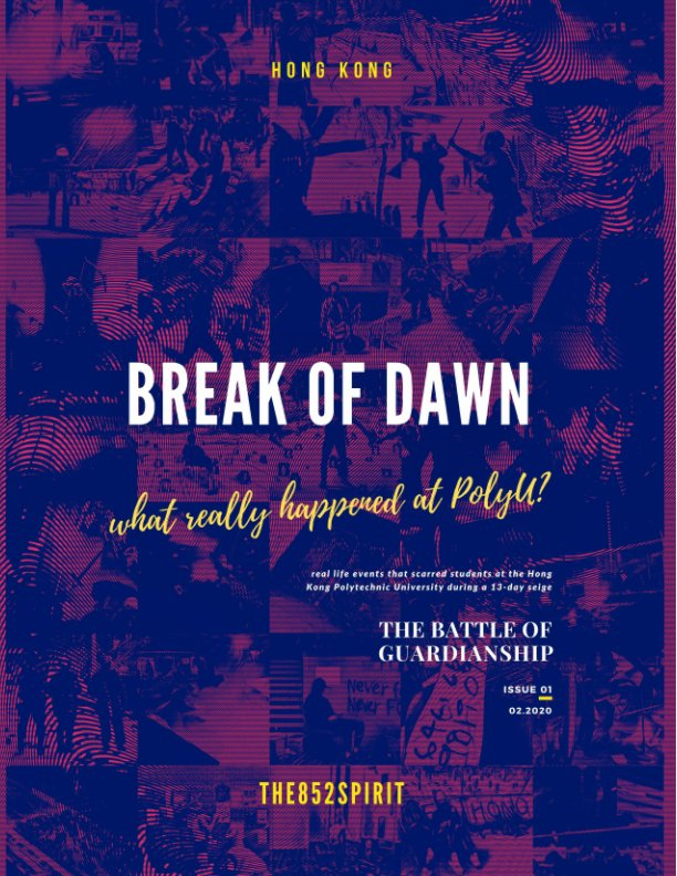 View Break of Dawn Issue 1, Feb 2020 by The 852 Spirit