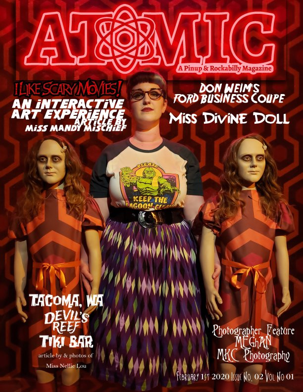 View Atomic, A Pinup and Rockabilly Magazine Issue No.02 Vol No.01 by Bills Atomic Media
