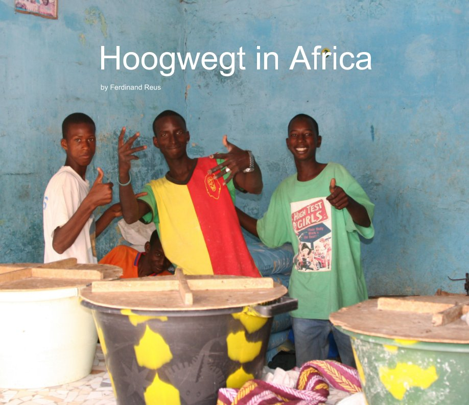 View Hoogwegt in Africa by Ferdinand Reus