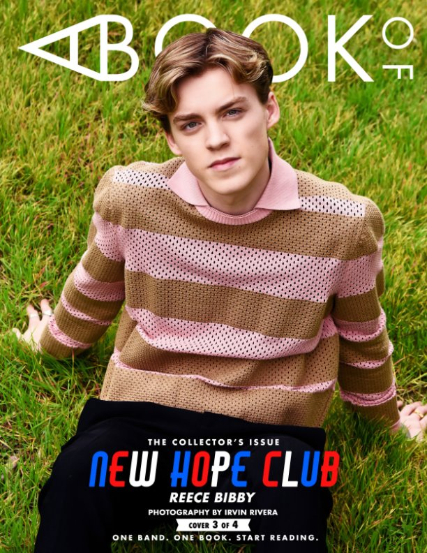 View A BOOK OF New Hope Club Cover 3 by A BOOK OF Magazine