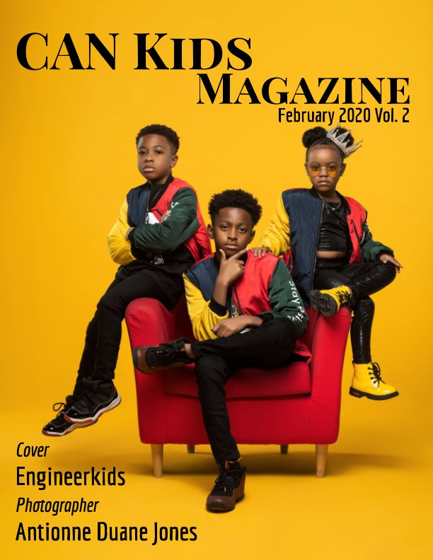 View February Issue Vol.2 by Can Kids Magazine