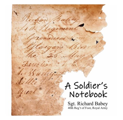 View A Soldier's Notebook by Kevin Babbey