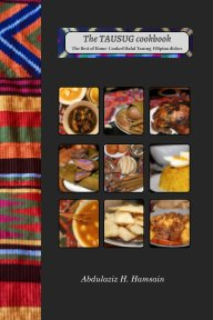 The Tausug cookbook (International Edition) book cover
