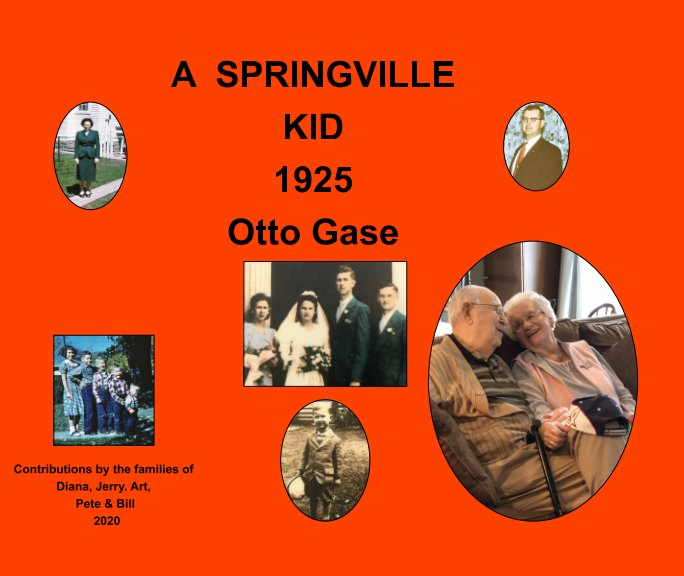 View A Springville Kid 1925 by Paul Gase