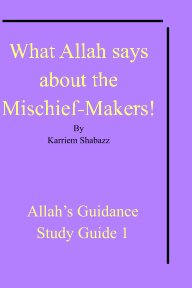 What Allah says about the Mischief-Makers! book cover
