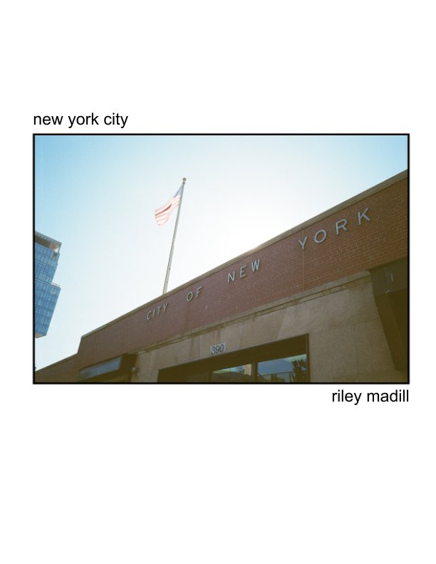 View new york city by Riley Madill