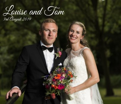 Louise and Tom Wedding book cover