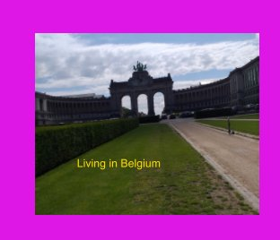living in Belgium book cover