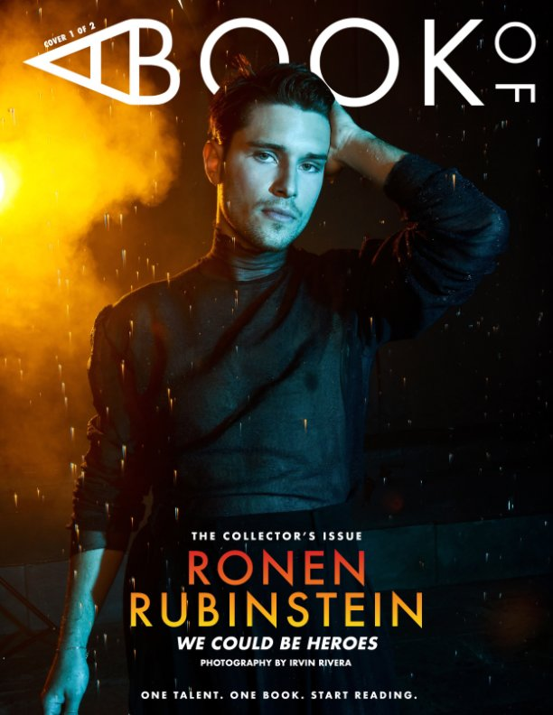 View A BOOK OF Ronen Rubinstein Cover 1 by A BOOK OF Magazine