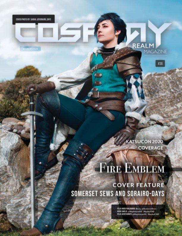 View Cosplay Realm Magazine No. 36 by Emily Rey, Aesthel