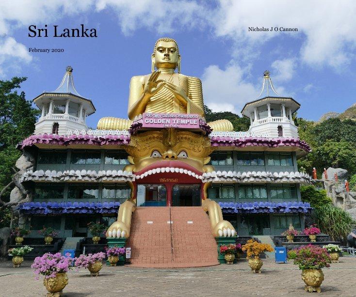 View Sri Lanka by Nicholas J O Cannon