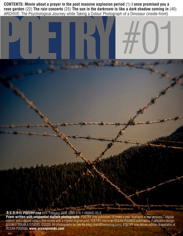 View POETRY zine #01 by Lee Ka-sing