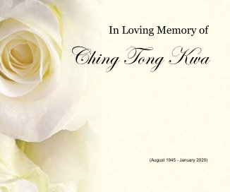 In Loving Memory of Ching Tong Kwa book cover